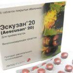 Эскузан таблетки - инструкция по применению, цена, аналоги