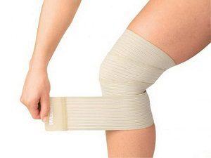 Бандаж на колено при варикозе, комперессия, трикотаж, лечение
